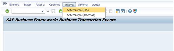 FIBF Entorno / Sistema Info